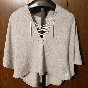 Victoria Secret's Crop Hoodie Sweatshirt